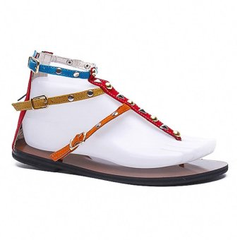 Rydax Flat Sandals 889 (Red)