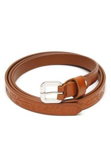 Santa Barbara Polo and Racquet Club Ladies' Belt (Brown)