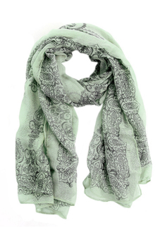 Sanwood Big Wraps Soft Scarf Green - picture 2