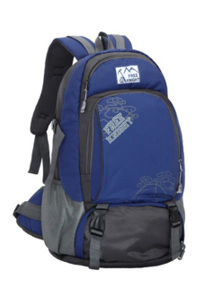 Sanwood® Unisex Travel Climbing School Bag Outdoor Backpack Blue - picture 1