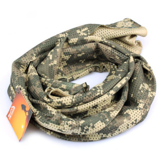 Scarf Lightweight Soft Camouflage Military Scarf