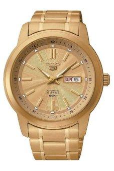 Seiko SNKM94K1 Men's Metal Sport Watch (Gold)