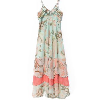 Sexy Women Summer Long Beach Chiffon Dress