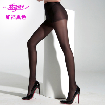Silk Spring and Autumn ultra-thin slimming stockings Silk socks ((Summer 15D) 1288A black)