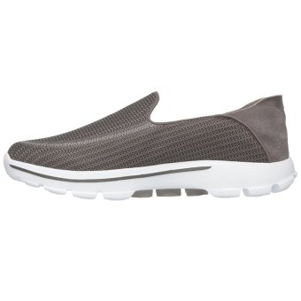Skechers GO Walk Lounge Slip-Ons (Khaki) - 4