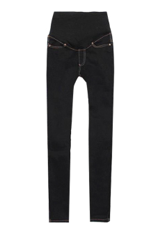 Skinny Jeans Pants (Black) - picture 2