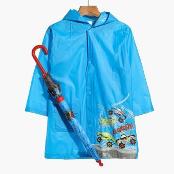 SM Accessories Boom Crash Raincoat and Umbrella Set (S)