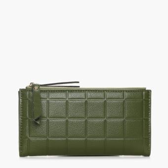 SM Accessories Ladies 704027 Long Wallet (Green)