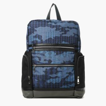 SM Accessories Mens Backpack (Blue)