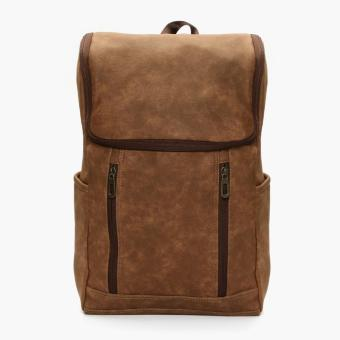 SM Accessories Mens Backpack (Brown)