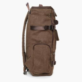 SM Accessories Mens Backpack (Brown) - 2