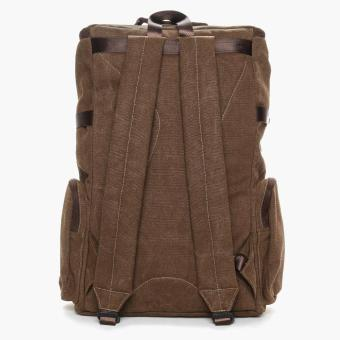 SM Accessories Mens Backpack (Brown) - 3