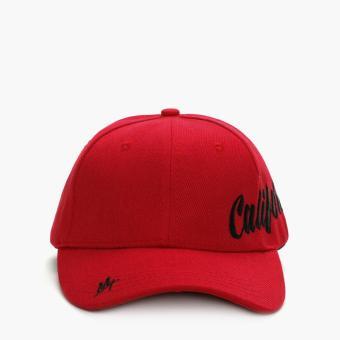 SM Accessories Mens Baseball Cap (Red)