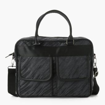 SM Accessories Mens Messenger Bag (Black)