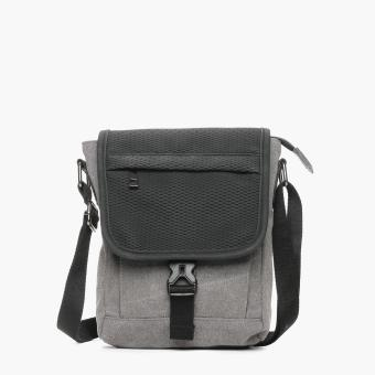 SM Accessories Mens Sling Bag (Grey)