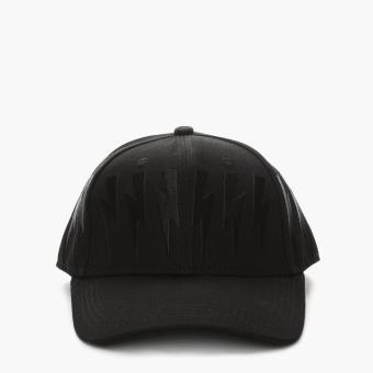 SM Accessories Mens Snapback Cap (Black)