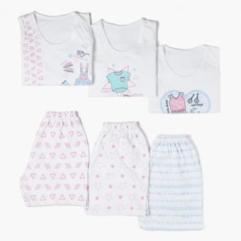 SM Basic Girls 6-Piece Cute OOTD Tank and Shorts Set (Size XL)