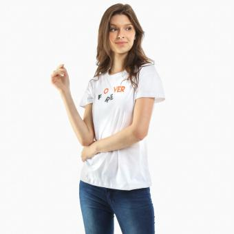 """SM Woman """"Forever"""" Statement Tee (White)"""