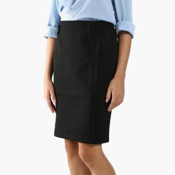 SM Woman Prima Stretch Pencil Skirt (Black)