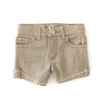 Small Baobao summer new big cowboy shorts