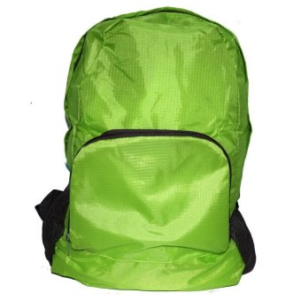 Smart77 Foldable Backpack (Green)