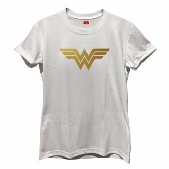 Smartieshirt Wonderwoman Shirt (White) - 3