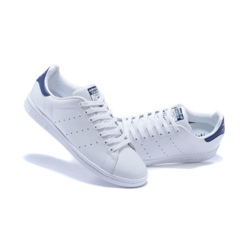 Smith Sneakers For Women Stan Running Shoes Size 36-40 White Blue -intl