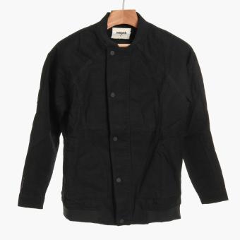 SMYTH Boys Teens Bomber Jacket (Black)
