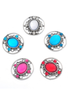 Snap Buttons With Rhinestone B85601 Main Color:Mixed