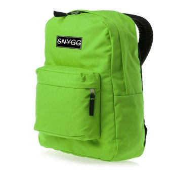 SNYGG Solid Backpack (Apple Green)