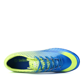 Soccer Shoes For Men Adults Professional Soccer Sneakers (Blue) - picture 2