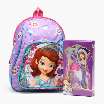 Sofia the First Backpack and Fashion Collection Set