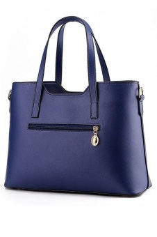 SoKaNo Trendz Sweet SA PU Premium PU Leather Bag- Dark Blue - intl - 2