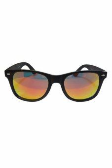 Sol Originals Wayfarer Sunglasses Black/Red with Wayfarer Sunglasses Yellow/Violet