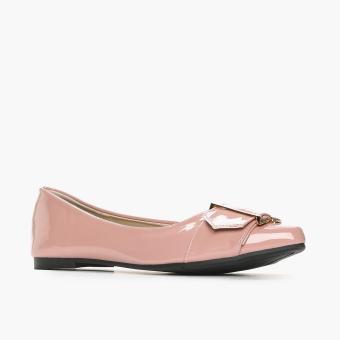 Solemate Ladies Vyan Ballet Flats (Blush) - 2
