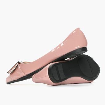 Solemate Ladies Vyan Ballet Flats (Blush) - 3
