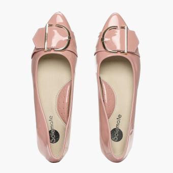 Solemate Ladies Vyan Ballet Flats (Blush) - 5
