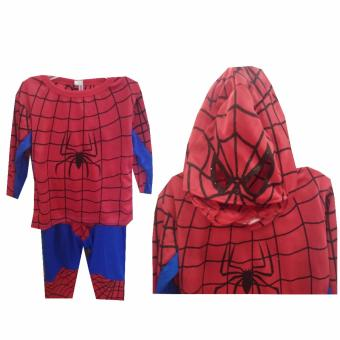 Spiderman Costume (1-9 Years Old)