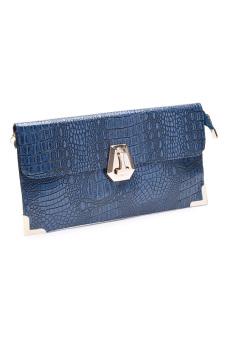Stratl A80367-1 Fashion Sofisti Party Bag (Blue)
