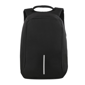 Student youth shoulder men's bag backpack (Black)