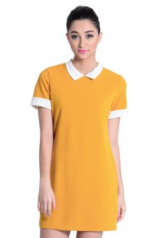 Sugar Clothing Jasim 13 Dress (Yellow/White)