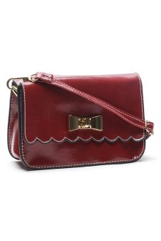 Sugar Lou Clutch Bag (Red)