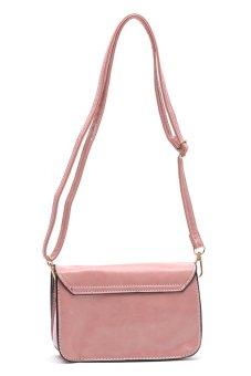 Sugar Lou Clutch Bag (Rose Pink) - 3