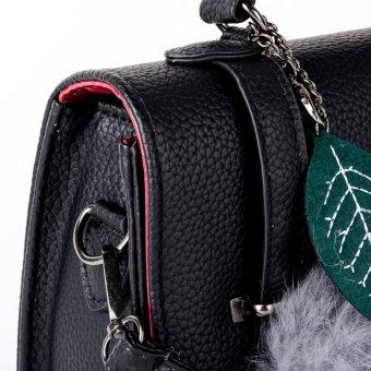 Sugar Zara Mini Top-Handle Bag (Black) - 4