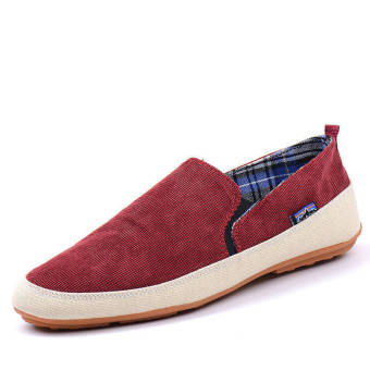 Summer Fashion Classical Vanvas Shoes - Red