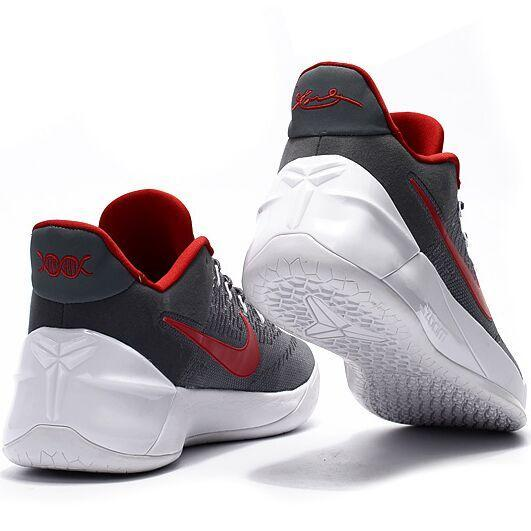 Summer Sports Sneakers For Zoom Kobe 12th AD Basketball Shoes Men(Grey/Red) - intl - 3