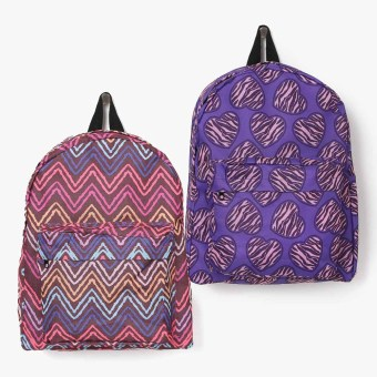 "Summit Kids 14"" Backpack Set of 2"