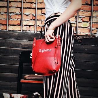 Supreme Single shoulder shoulder bag embroidered classic file bag cosmetic bag handbag tide card bag - 4