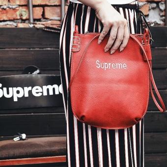 Supreme Single shoulder shoulder bag embroidered classic file bag cosmetic bag handbag tide card bag - 3