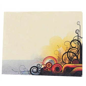 Swirl Iconic Paper Wallet (Light Yellow)